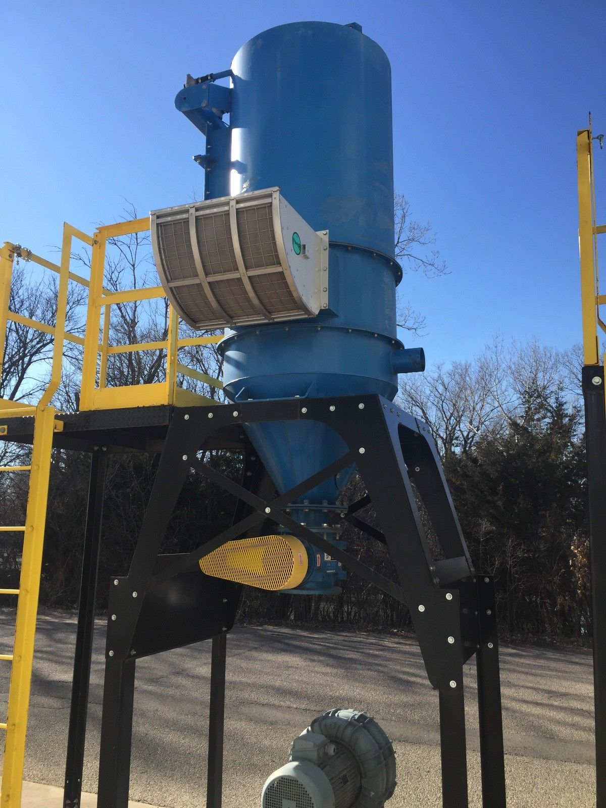 Industrial Vacuum Durovac 25 Hp Cyclone Dust Collector